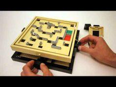 Custom LEGO Ball Maze (Labyrinth)