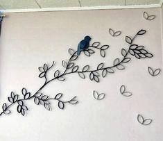 Artesanato com Reciclagem: Como fazer decoração com rolos de papel