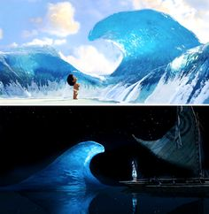 I'm the girl who loves the sea. It calls me. #disney