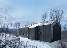 This Modern Home in the Woods Is the Ultimate Weekend Retreat
