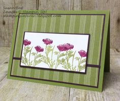Wild About Flowers, What Will You Stamp?, WWYS, Stampin' Up!, stampinginferno.blogspot.com