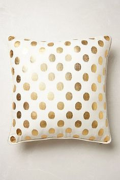 See this Kels?  Luminous Dots Pillow - anthropologie.com #anthroregistry