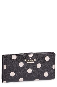 kate+spade+new+york+'cedar+street+dot-+stacy'+wallet+available+at+#Nordstrom