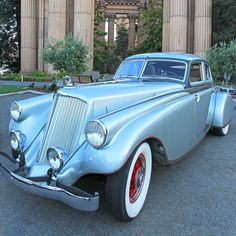 1933 Pierce-Arrow Silver Arrow - (Pierce-Arrow Motor Car Company Buffalo, New York 1901-1938) #ClassyCars