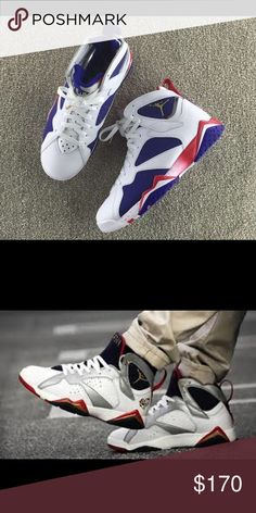Air Jordan Olympic 7s Brandnew , in box . NBW!! Size 10. High demand. DM me for further questions Jordan Shoes Sneakers