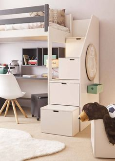 Fine Schlafzimmer Ideen Mit Hochbett that you must know, You?re in good company if you?re looking for Schlafzimmer Ideen Mit Hochbett Teal Girls Rooms, Small Space Bedroom, Small Space Interior Design, Bunk Bed Designs, Kids Bunk Beds, Room Planner, Bed Plans, Room Accessories, Dream Rooms