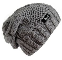 Warm Chunky Soft Slouchy Beanie Cable Knit SKully Hat Frost Hats M 179  Beige at Amazon Women s Clothing store  Slouch Beanie Hats 3972c4ed02b1
