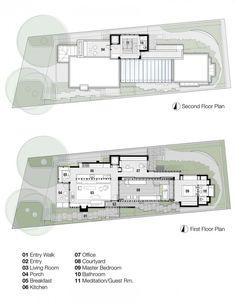 Dakar Sow Residence Senegal Floor Plans How Plan Ground