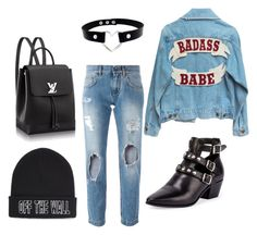 """""""Untitled #36"""" by deja-leko ❤ liked on Polyvore featuring Dolce&Gabbana, Vans and Yves Saint Laurent"""