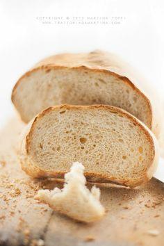 Pane con farina Einkorn di farro monococco e farina tipo1 di Ezio Marinato - Trattoria da Martina - cucina tradizionale, regionale ed etnica...