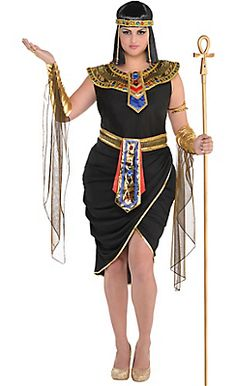 Adult Egyptian Queen Cleopatra Costume Plus Size  sc 1 st  Pinterest & 55 best Plus Size Halloween images on Pinterest | Halloween prop ...
