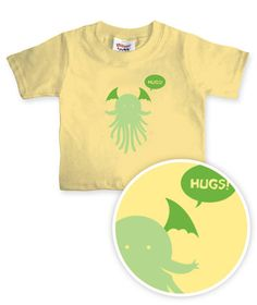 ThinkGeek :: Baby Cthulhu - So want for my future kid. <3