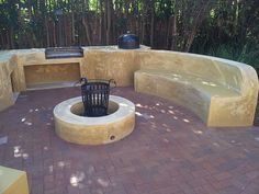 Fire Pits and Entertainment Areas