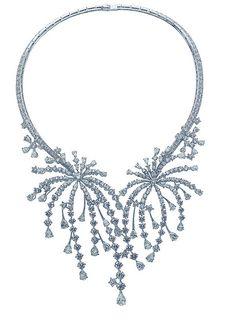 Diamond Fireworks! necklace by Van Cleef & Arpels