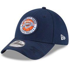 81b223c25f8 Men s Oklahoma City Thunder New Era Blue 2018 Tip Off Series 39THIRTY Flex  Hat