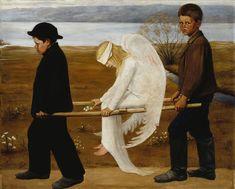 The Wounded Angel - Hugo Simberg - Hugo Simberg – Wikipedia