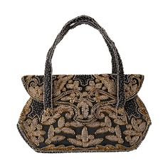 Elaborate French Beaded Bag   From a collection of rare vintage evening bags and minaudières at https://www.1stdibs.com/fashion/handbags-purses-bags/evening-bags-minaudieres/