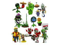 Plants vs. Zombies Garden Warfare Select Figure Two Pack - Set of 4 - Plants Vs. Zombies Figures