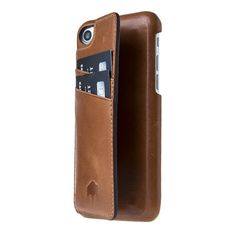 Ultimate Snap-on Stand Case // Burnished Tan Leather (iPhone 7)