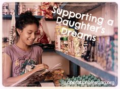 SUPPORTING HER DAUGHTER'S DRAMS: PERU – For some mothers, the dreams they have for their children are elaborate, but Rosa's was simple—she wanted her little girls to have the education she never could. Read how a small business from Operation Blessing partners made that possible...