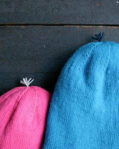 Reversible Hat in Purl Soho's New LineWeight! - The Purl Bee - Knitting Crochet Sewing Embroidery Crafts Patterns and Ideas!