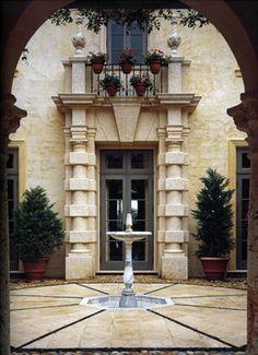 Beautiful Stone Facade | Norman Davenport Askins Architect | Atlanta, GA