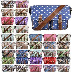 #Ladies satchel shoulder #handbag bag school a4 crossbody messenger #gifts,  View more on the LINK: http://www.zeppy.io/product/gb/2/282100132572/