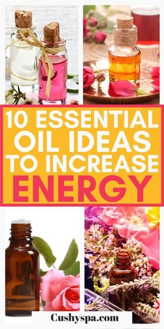 These amazing essential oil remedies will help you have more energy in your day. This list will help find the best aromatherapy solutions to try and how to incorporate these essential oils into your life. #Aromatherapy #EssentialOils Essential Oils Energy, Oils For Energy, Basil Essential Oil, Cinnamon Essential Oil, Cedarwood Essential Oil, Frankincense Essential Oil, Eucalyptus Essential Oil, Orange Essential Oil, Best Essential Oils