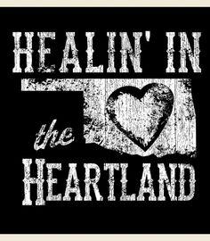 HEALIN IN THE HEARTLAND TEE - Junk GYpSy co.