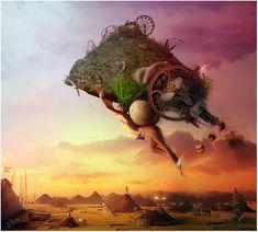 Artwork by Mario S Nevado / Music by Dipti Bhakti