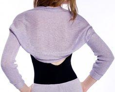 Drape Knit Shrug by KD dance New York Fashionable, Comfy & Warm Made In USA