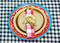Western Party Tablesetting