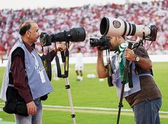 Monopods are perfect when you need to be able to move quickly, like in sports photography. Image by Khaleel Haidar.