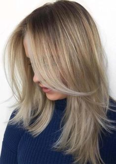 38 Perfect Layered Hairstyles for Fine Hair in 2018. Dont know how to style thin hair perfectly according to its natural texture? Ladies who have naturally thin hair usually dont know how to create the beautiful look to make for cutest personalty. In this post we have a best collection of layered hairstyles for thin hair for those women who have long layers naturally.