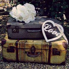 Vintage Suitcases! Love!
