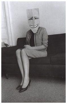 Saul Steinberg masquerade / Inge Morath