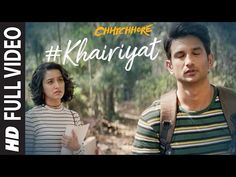 """Presenting the full video of the song """"Khairiyat"""" from the Bollywood movie """"Chhichhore."""" A beautiful song that will make you revisit your """"college ka pehla p. Love Songs Playlist, Youtube Songs, Saddest Songs, Best Songs, Song Joong Ki Birthday, Happy Guru Purnima, Bollywood Movies Online, Hazrat Ali Sayings, Song Images"""