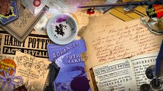 Hermione Granger Desk Wallpaper and Gmail Theme by