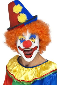 Resultado de imagen de carnaval cara maquillaje pAYASO