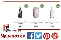 Hoy en hogaresconestilo.com tenemos estas piezas tan bonitas de #oferta! #home #hogar #estilo #deco #decoracion