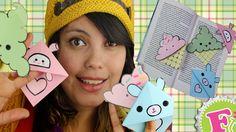 Como hacer Separadores Kawaii! - YouTube Diy Back To School, Denim Art, Corner Bookmarks, Origami Bookmark, Crafts For Teens, Love Art, Youtube, Ideas Para, Instagram Story