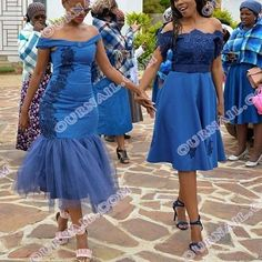Top Traditional Dresses for Shweshwe in South Africa - Our Nail Striped Formal Dresses, Sequin Formal Dress, Sequin Cocktail Dress, Cocktail Dresses, African Attire, African Dress, African Wear, Shweshwe Dresses, African Traditional Dresses