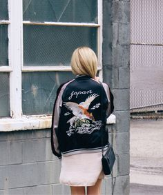 Japanese Souvenir Jacket | | Blog and The City