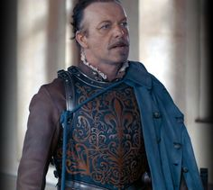 The Musketeers - Treville's ceremonial armour is gorgeous.