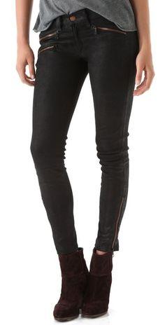 Rag & Bone/JEAN RBW 23 Leather Pants (via http://www.chicityfashion.com/leather-pants/)