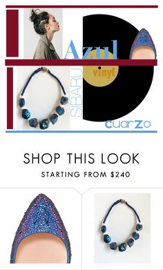 """Azul"" by sibaru ❤ liked on Polyvore featuring Christian Louboutin"
