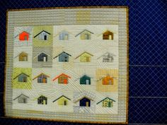 Quilt by Carolyn Friedlander at Quilt Market Houston - Day 1 - QuiltingAdventures Blog