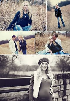 outdoor maternity pictures