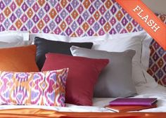 Lombok Collection of Balinese-inspired printed fabrics from Clarke & Clarke