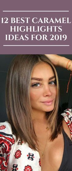 Brown Hair With Caramel Highlights, Brown To Blonde Balayage, Hair Color Caramel, Hair Color Highlights, Chunky Highlights, Haircuts For Medium Hair, Medium Short Hair, Medium Hair Cuts, Medium Hair Styles